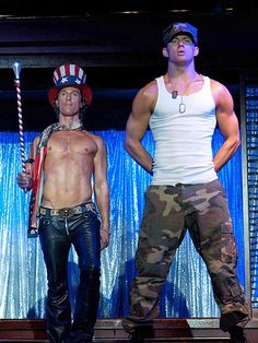 Matthew McConaughey & Channing Tatum | MAGIC MIKE