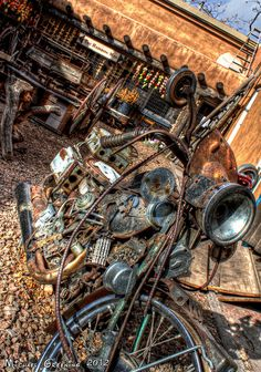 Rusty Ride ... Great shot ... love this