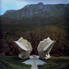 Partisan Memorials in former Yugoslavia