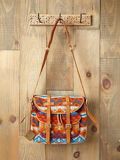 peruvian ski satchel - free people