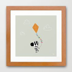 The Happy Childhood Framed Art Print