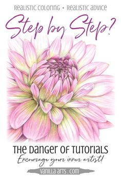 Coloring Flowers with Copic Markers Luxury the Danger Of Step by Step Coloring Tutorials — Vanilla Arts Co Coloring Tips, Colouring Pages, Adult Coloring, Colored Pencil Tutorial, Colored Pencil Techniques, Copic Marker Art, Copic Markers, Alcohol Markers, Pencil Drawing Tutorials