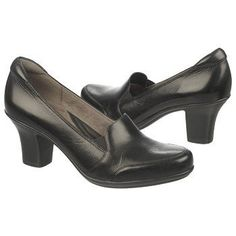 Naturalizer Liora Shoes (Black Leather) - 7.5 M