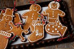 Gingerbread for Construction  This recipe is for gingerbread ornaments and sure to make your tree one no one will forget.