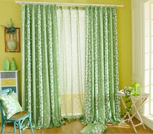 Sportnowstudio Spring Garden Small Fresh Flowers Curtains for Bedroom Rural Floral Curtain for Living Room Roman Shades Fabric Window Treatment - Use: Cafe,Office,Home,Hospital,Hotel Windows, Window Treatments, Fabric Window Treatments, Curtains Living Room, Home Textile, Bedroom Green, Curtains Bedroom, Green Drapes, Blackout Curtains