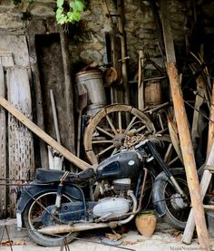 Photo in Motor Abandoned Cars, Old Bikes, Vespa, Classic Cars, Biking, Bicycles, Vehicles, Planes, Vintage