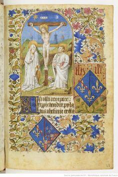 Heures à l'usage de Paris (Heures de Jeanne de France, 1452) BNF, NAL 3244