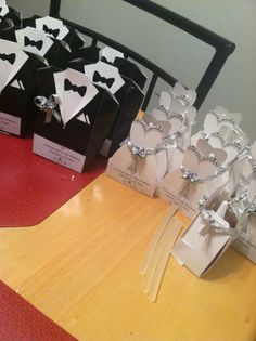 Wedding Party Favors/ Recuerdos de Boda Wedding Favor Boxes, Wedding Cards, Wedding Gifts, Wedding Invitations, Centerpiece Decorations, Wedding Centerpieces, Wedding Decorations, Marry You, Dream Wedding