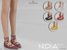 Nidia Flats for The Sims 4