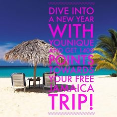 Dive in to the new year with Younique and start earning points towards your free trip!! Jan14-Feb14!! Do you need some empowerment and motivation in your life or know anyone that does!!? Share this with them! I am!