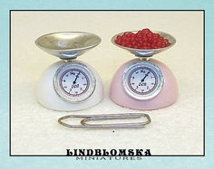 Modern scale for dollhouses soft blueberry by Lindblomska Measuring Spoons, Dollhouses, Blueberry, Scale, Miniatures, Personalized Items, Modern, Etsy, Weighing Scale