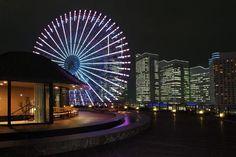 Illuminations of Yokohama  横浜みなとみらい万葉倶楽部