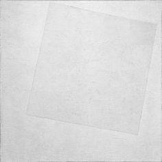 Monochromatic Composition: Kazimir Malevich, White on White, 1918.