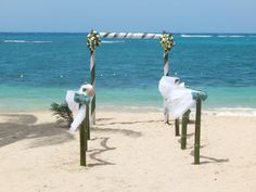 """Say """"I do"""" at the perfect #destinationwedding location in #Jamaica at #CouplesSweptAway."""