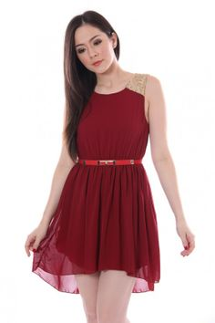 MAROON-Color Bridesmaid Dress -- Blythe Sequin Dress _____________________________ Reposted by Dr. Veronica Lee, DNP (Depew/Buffalo, NY, US)