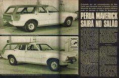 Ford Maverick na História: A Perua Maverick