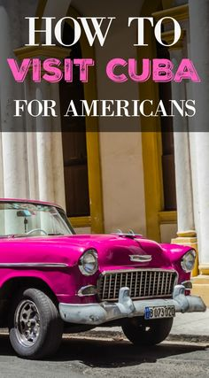 How to Visit Cuba For Americans. Many people also seemed confused about whether Cuba is open for Americans right now or not. There also seems to be mass confusion on what the recent change in the General License process really means for Americans trying to visit Cuba independent of a licensed tour. Click to read the full travel blog post at http://www.divergenttravelers.com/how-to-visit-cuba-for-americans/