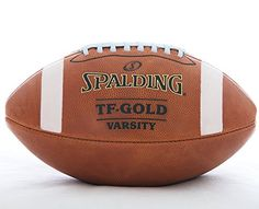 Spalding Leather Football TF-Gold Varsity Top Grain Leather NFHS Approved Full Size Premium Football ** You can find out more details at the link of the image.