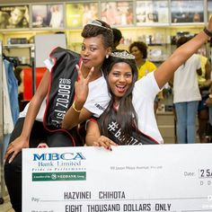 BOFOZ 2016 Queen Hazvineyi Chiota (right) & her Princess Mazvita Chakawa (left) at the Official Prize Giving Ceremony Are you the next Queen? Black Opal, Pride, Queen, Photo And Video, Princess, Instagram, Show Queen, Princesses, Gay Pride