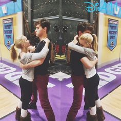 """Photos: Dove Cameron Working With Ryan McCartan On """"Liv And Maddie"""" For Episode """"Gift-A-Rooney"""" March 8, 2015 - Dis411"""