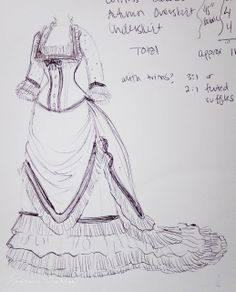 """truly victorian bustle skirt pattern   V332: New Project: Giant """"Green Acres"""" Bustle Gown"""