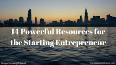 '14 Powerful Resources for the Starting Entrepreneur' I have created a great list of resources that starting entrepreneurs should read. The resources are divided into tools, blog posts, and websites. This way, you can find all the answers to your questions if you are thinking about starting a business. Read the blog at http://budgetvertalingonline.nl/business/14-powerful-resources-for-the-starting-entrepreneur/
