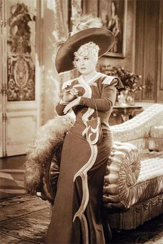 Mae West in 'Every Day's A Holiday' 1937, costume by Elsa Schiaparelli