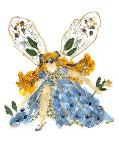 Fantasy fée fleur Art - « Lune-esprit Faery » 8 x 10 beaux-arts giclée Print *
