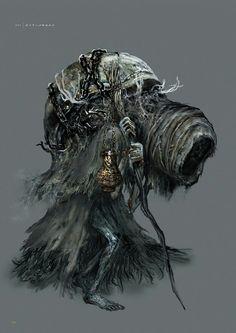 Dark Souls 3 Concept Art - Yoel Concept Art