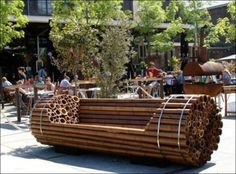 Who knew park benches could be so artful? (35 Photos)