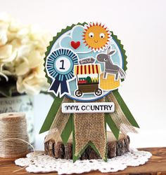 Bella Blvd | Barn Yard Collection | 100% Country Ribbon by Laurie Schmidlin