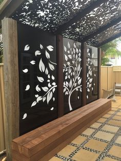 When early with principle, the particular pergola may be encountering a current rebirth these types Outdoor Wall Art, Outdoor Walls, Outdoor Living, Outdoor Decor, Pergola Patio, Backyard Patio, Backyard Landscaping, Pergola Screens, Pergola Kits