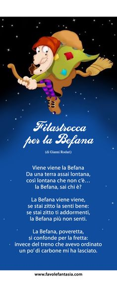 sulla befana per l'Epifania Italian Grammar, Italian Vocabulary, Italian Phrases, Italian Language, Christmas In Italy, Christmas Time, Yule, Italian Lessons, Dinner Themes