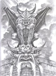 Gargoyle. by tonyszczudlo on deviantART