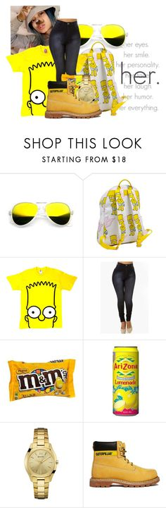"""Hanging With Her!!"" by princess-kpop-lover190 ❤ liked on Polyvore featuring Joyrich, Bulova and Caterpillar"