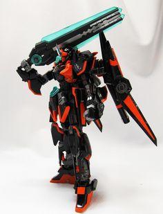 GUNDAM GUY: HGBF 1/144 Ore-Shiki w/ Ball-Sen [Kamen Rider Ghost] - Customized Build