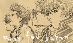 # C ö m i c s 漫 画 by hiroyuki asada Manga Boy, Manga Anime, Drawing Reference, Gundam, Lettering, Comics, Drawings, Illustration, Range Murata