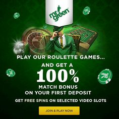 Welcome to Canadian Players ! Mr Green - A Casino Playground: Blackjack, Roulette, Slot Machines Mr  Green's €1 Million Mega Jackpots Power Prize Draw: Mr Green - Bonus...