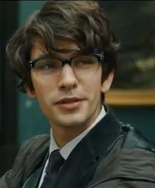 "Ben Whishaw as ""Q"", in the new James Bond movie, Skyfall. Love everything about this. The look, his hair, his face! Especially his face!"