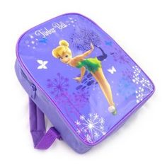 Trade Mark Collections Disney Fairies Tinkerbell Backpack School Bag