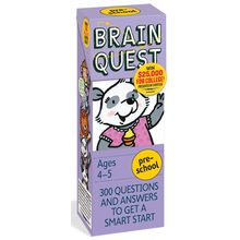 Brainquest Preschool - 4th Edition