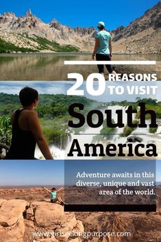 There is so much more to South America than just Machu Picchu. Here are 20 adventurous reasons to visit this vast and diverse region of the world. Columbia South America, South America Map, South America Destinations, Adventure Awaits, Adventure Travel, South America Animals, America Memes, In Patagonia, Enjoy Your Vacation