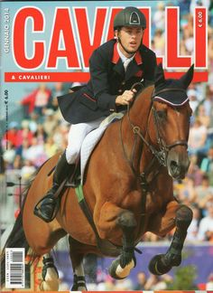 Scott Brash & KEP Italia on the cover of CAVALLI & CAVALIERI, January issue! #thankyou!