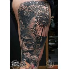 cool Top 100 geisha tattoo - http://4develop.com.ua/top-100-geisha-tattoo/ Check more at http://4develop.com.ua/top-100-geisha-tattoo/