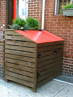 Squirrels and other critters aren't cute anymore when they're in your garbage cans. Check out these outdoor trash can storage ideas to keep them at bay!