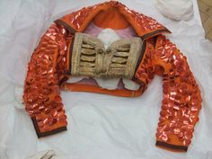 Bolero jacket for I Am Curious, Orange | Bowery, Leigh | V&A Search the Collections
