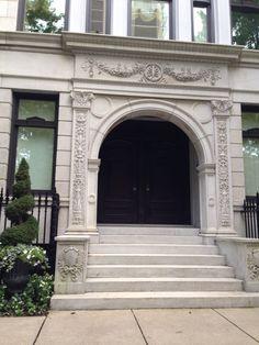 Neoclassical Chicago Building Facade 2014 williamnashdesign.com
