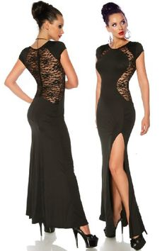 Full Length Lace Splicing Wrap Dress... for only $11.19