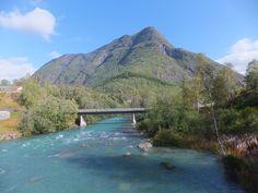 Lovely scenery in Skjolden, Norway