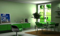 Yeşil Renk ile Evinizi Dekore Etmenin Yolları
